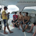 Pre-dive safety talk