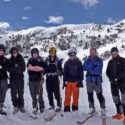 Our group high in the Pyrenees