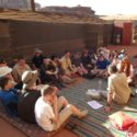 Base camp in Wadi Rum - training in desert trekking and survival skills.