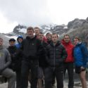 Acclimatisation Walk - The team at Lake Churup