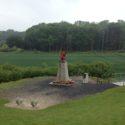 38th (Welsh) Division Memorial overlooking Mametz Wood