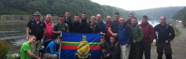 Bravo Coy Expedition 2014, Pembrokeshire Coastal Path, Wales.