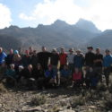 Group 2 at Mintos with Mt Kenya in the background