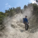 Surviving the dust on crater rim of Mt Longonot