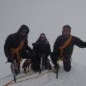 Majors Tolan & Watson with Pte Wood on Denali Summit