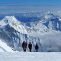 Maj Tolans Rope team gaining Huascaran summit
