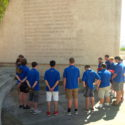 Pause for reflection at Talavera monument