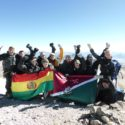 Acotango saw the whole team reach the summit