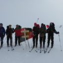 Group at finish of exped, near Finse
