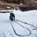 Snow bollard