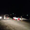Night retrieve near Grenoble