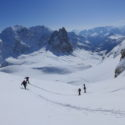 Oxford UOTC team ski up to Mont Thabor Stage 10