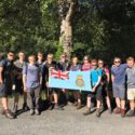 Durham Cadets before climbing the Canigou