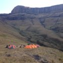 Wild Camping at its best in the Drakensberg Mountain Range