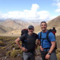 Our illustrious Mountain Leaders within the High Atlas  range.