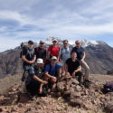 Myself, Trooper Kirby with the first team to  summit