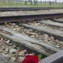 Past and present - Birkenau.
