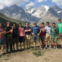 The group in the Alps