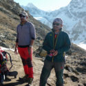 Gurkha Adventures CEO Khil Thapa (left) and Aas Gurung (right - killed in the avalanche).
