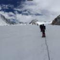 Potaniin glacier panorami