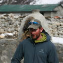 Sgt Scot Ottiwell IC Leg 2 briefing Leg 3 in Dingboche