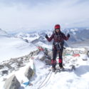 Spr Vicky James on Friendship Peak Nairandal 4180m