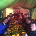 Support Tent feast