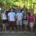 Group 1, at the end of a challenging fortnight's diving.