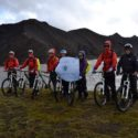 Cycle into Landmannalaugar National Park