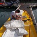 Sail repairs