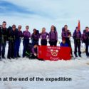 The team at the end of the expedition