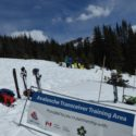 Avalance safety training in Lake Louise