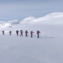Skiing to the Finse Hut