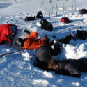 Digging more emergency snow shelters