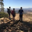 The day leaders for Day 4 undertake a visual recce of the route they are about to lead the Group 2 Zulu Team along.
