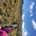 Trekking on with Mount Kenya on the horizon