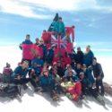 The summit of Jbel Toubkal