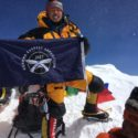 LCpl Dhan Gurung, Queen's Gurkha Engineers, at the summit