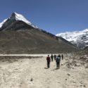 On route to Island Peak Base Camp