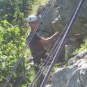 Cadet climbing
