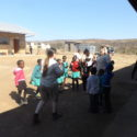 Playtime at the Zulu school