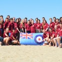 Operation Drakensberg Elephant Group photo at St Lucia Beach