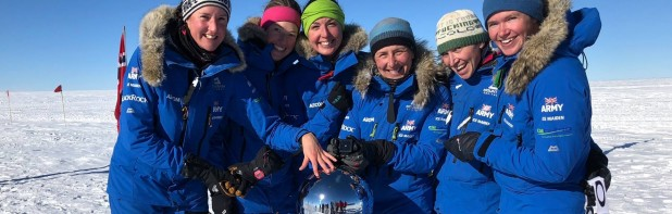 Inspiring Ice Maidens Help Launch Charity Appeal
