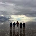 Leg 6 contemplating the Salt Flats in Bolivia