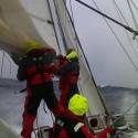 Sailing1: battling the conditions, mid-Atlantic