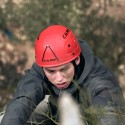 The Look of Determination: Planning, physical skills and concentration in progress!