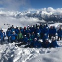 The Snow Camp party in Italy