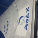 The brand new racing sail for Ajax