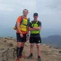 A hot day to run 25 miles up Snowdon