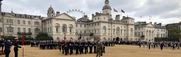 Sea Cadets Trafalgar Day Parade and Reception